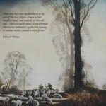 First Light/ quotation 17 (Edward Thomas)