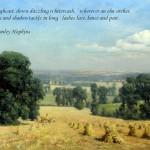 Somerset Harvest/ quotation 22 (Hopkins)