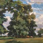 Suffolk elms de Glehn/ quotation 18 (Orwell)